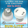 E26 to Gu24 Lampholder Adapter; Eb-04A
