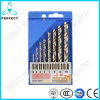 8PCS Fully Ground M35 HSS Cobalt Drill Bit, 3-10mm