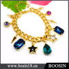 Luxury Noble Dubai Gold Jewelry Crystal Gold Bracelet #31484