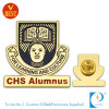 Education Organization Pin Badge with Gold Plating From China