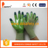 Ddsafety 2017 Green Nylon with Green Nitrile Glove