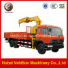 Dongfeng Hydraulic Telescopic Boom 10 Ton Truck with Crane