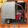 Hot Sale Philippines Enclosed Cabin Box Tricycle