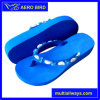 High Heel EVA Sandal with Sequins and Beads Straps