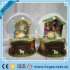 Resin Manger Snow Globe for Decoration