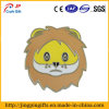 Lion Face Enamel Lapel Pin