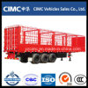 Cimc Factory Made 3 Axle Cargo Fence Trailer