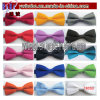 Polyester Tie Adjustable Bow Tie Solid Colors Neckwear (T8050)