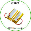 3.7V 700mAh Exc852045 Rechargeable Li- Polymer Battery
