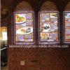 Restaurant LED Menu Board Slim LED Light Boxes for Takeaway
