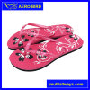 Girl Slide Sandal with Flower Printing for Travel