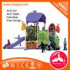 Cartoon Theme Outdoor Soft Kids Playground Slide