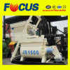 Hot! 75-90m3/H Double Horizontal Axles Forced Concrete Mixer Js1500
