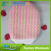 Boby Cleaning Double Color Striped Cloth Nylon Bath Gloves