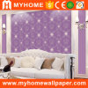 Wedding Decoration Purple Romantic Wallpaper with High Grade
