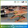 1m 3m 1ton Stationary Cargo Lift Platform Hydraulic Scissor E Type Lifter