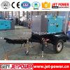 Silence 30kw 40kVA Generation Diesel Generator with 2 Wheels Trailer