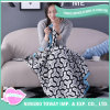 Cotton Travel White and Black Patterns Thermal Moving Blanket