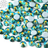 2018 Latest Hot Selling Ss16 Emerald Ab Hot Fix Rhinestone Glass Crystal Copy Preciosa Stone (HF-ss16 emerald ab /5A grade)