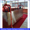 Aerial Working Hot Galvanized Zlp630 Suspended Platform with Steel Wire