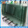 Australia Flat Polished Edges Frameless Toughened Pool Fence Glass Warehouse