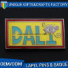 Custom Design Metal Soft Enamel Badge with Plating Gold
