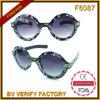 F6087 Round Plastic Frames Ladies Style Lunettes De Soleil