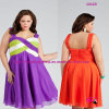 Party-Ready Chiffon Plus Size Dress for Evening Dress