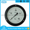 150mm Black Steel Case Pressure Gauge with Flange