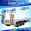 Hot Sale Heavy Duty 2-5 Axles 35-120 Tons Low Loader Flatbed Semi Truck Trailer for Sale