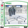 Adjustable Collapsible Chrome Garment Clothes Rack