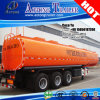 3 Axles Storage Chemical Fuel Tank Trailer for Guyana