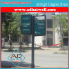 Double Sided Street Advertising Lamp Pole Light Box