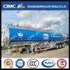 Cimc Huajun 3axle Fuel/Oil/LPG/Gasoline/Diesel Aluminium Alloy Tanker
