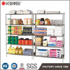 NSF Approval 5 Shelf 800lbs Restraurant Kitchen Storage Steel Wire Shelving Rack