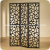 Stainless Steel Metal Folding Screen Room Divider