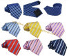 Stock Polyester Silk Jacquard Leisure Tie for Men