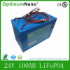 24V 100ah LiFePO4 Battery Pack for Home Energy Storage System