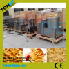 Semi Automatic Fresh Plain Wavy Potato Chips Machine