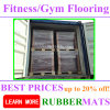 China Factory Supplier Commercial Home Gym EPDM Rubber Flooring