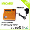 New 2016 Hot Selling 16800mAh Mini Multi-Functional Portable Car Jump Starter with Compressor