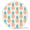 Pineapple Design Round Printed Beach Towel with High Quality