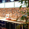 [Mius Art Mosaic] Strip Mosaic in Antique Copper for Backsplash D6021-3