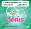 Progressive Cr39 1.499 Short Corridor 14mm UC Optical Lens