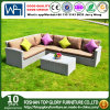 Garden Furniture Sofa Rattan Modular Corner Set with Cushions