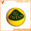 Flower Badge Pin with Shining Gold Plated (YB-LP-51)