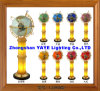 Yaye 18 Hot Sell Floor Lamp/ Lighting Gemstone Globe / Gemstone Globe with Lighting/ World Globe with Lighting