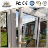 High Quality Factory Cheap Price Fiberglass Plastic Tilt and Turn Door with Grill Inside