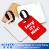 Sublimation Printable Blank MDF Luggage Tag