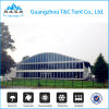 Transparent Curve Marquee PVC Storage Tent with Sizes and Shapes